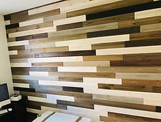 San Diego Wood Plank Installation