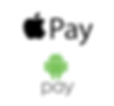 Apple pay and android pay accepted