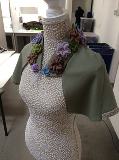 Crocheted Cape