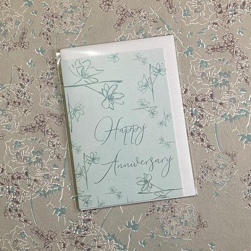 'Happy Anniversary' Greeting Card