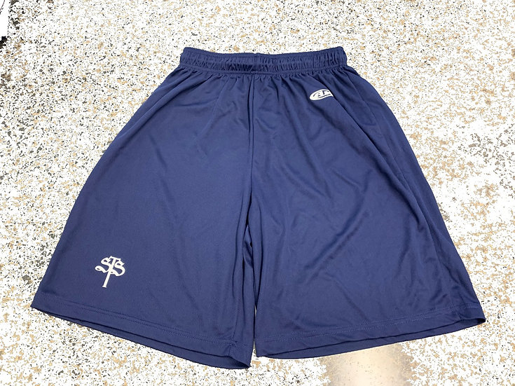 Adult Navy Dry Weave Shorts