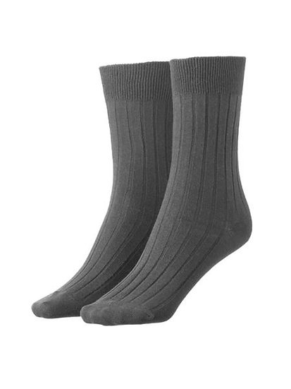 Grey Dress Socks