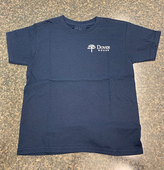 Dover Elementary Gym T-Shirt - Navy Blue