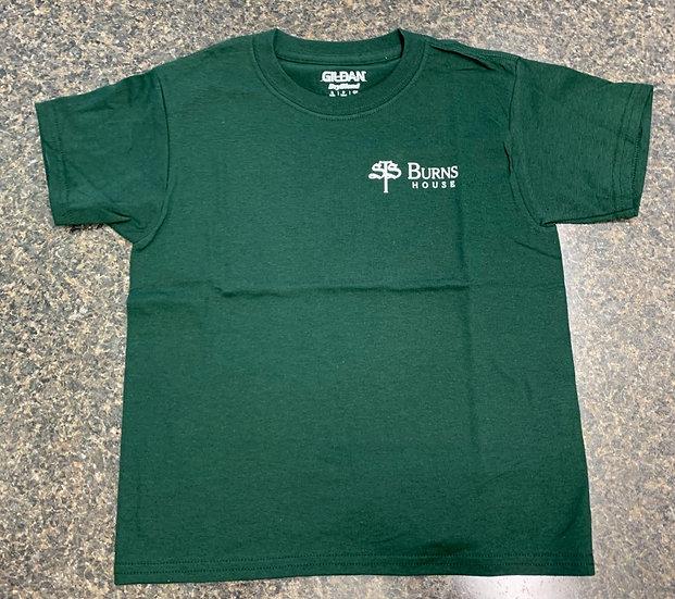 Burns Elementary Gym T-Shirt - Green