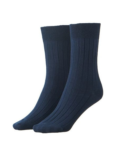 Navy Socks - Unisex