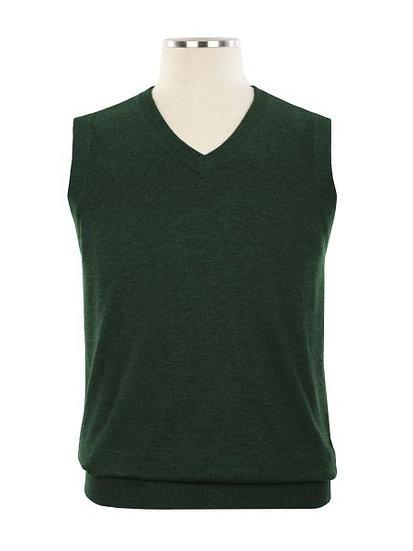 Hunter Green Vest - Girls