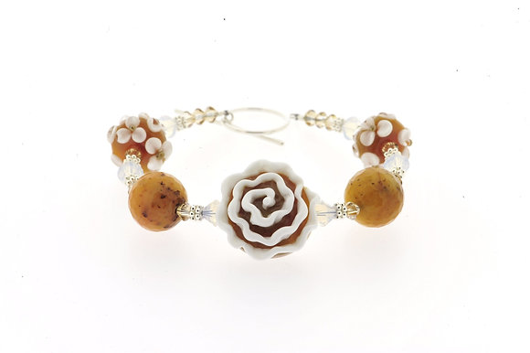 Rosebud Bracelet-Butterscotch