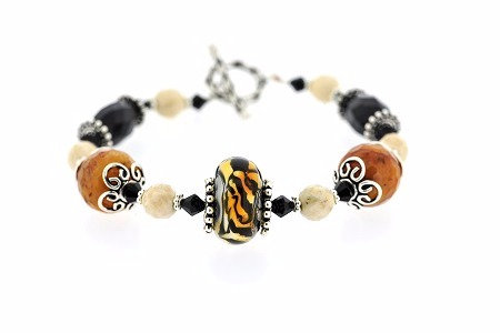 Tiger Stripe Bracelet