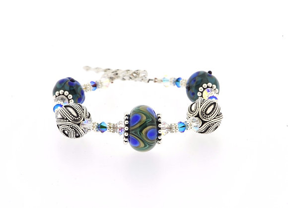 Elegance Bracelet-Peacock