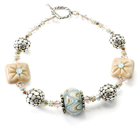 Elegance Bracelet-Peach