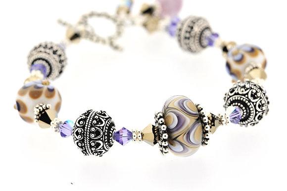Elegance Bracelet-Mauve