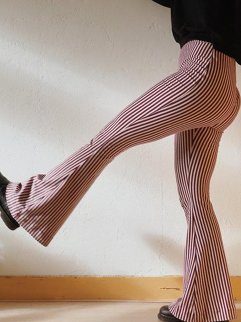 Flare stripes