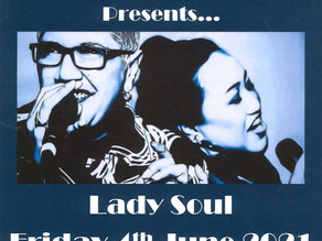 Lady Soul Live! Fri 4th June, 7pm