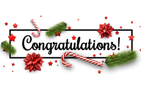 Congrats to our Christmas Raffle Winner – Rodney Grieg
