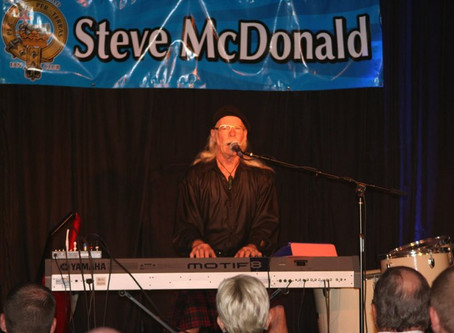 Fri 11th September, 7pm – Steve McDonald Live! The Spirit of Scotland