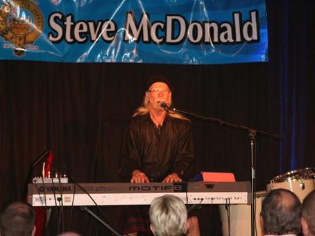 Fri 11th September, 7pm – Steve McDonald Live! The Spirit of Scotland