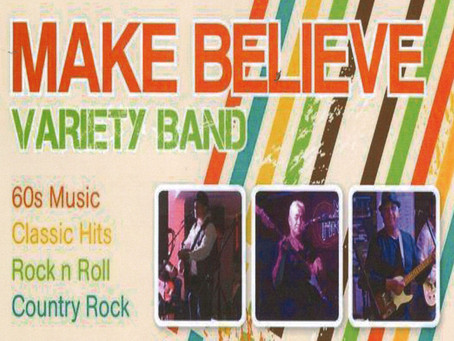 Make Believe Live! Fri 5th Feb, starting at 7pm