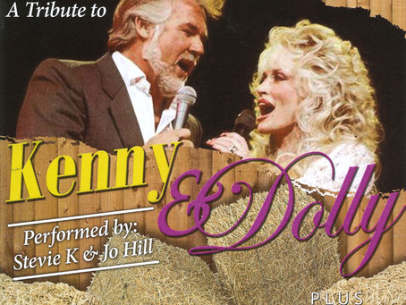 A Tribute to Kenny & Dolly Live! Saturday 28th August, 8pm