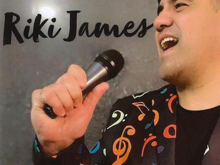 Riki James Live! Sat 17th July, 7pm