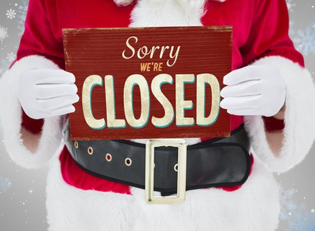 Club Closing – Sunday 16th Dec 2018 @ 5.30pm