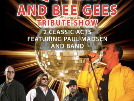 Queen and Bee Gees Tribute Show! Sat 10th April, 8pm
