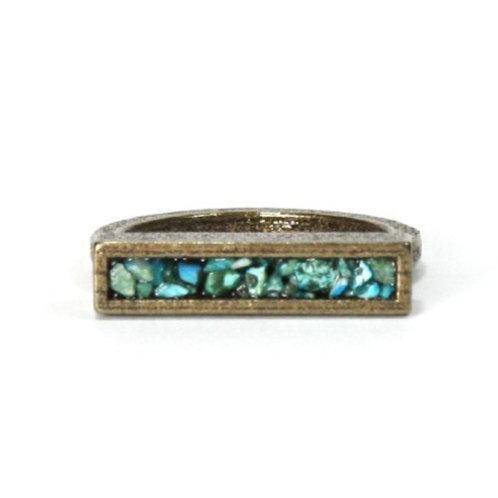 Turquoise Bar Ring