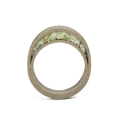 Raw Topaz Ring