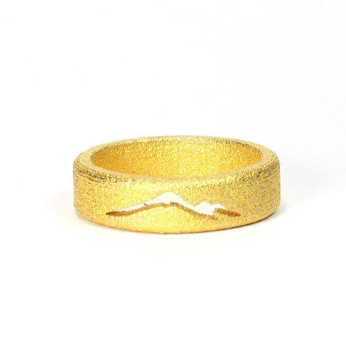 Gold Plated Steel Mountain Band