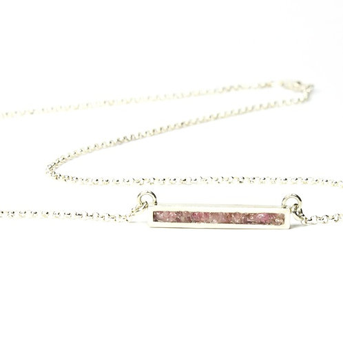 Tourmaline Bar Pendant