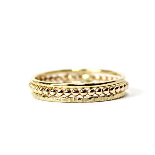 Stacking Ring Set - Gold