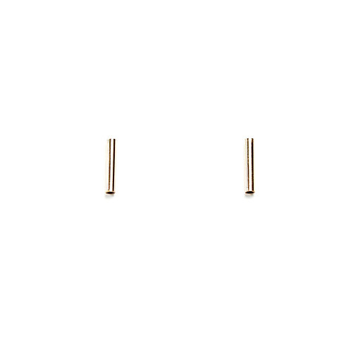 Gold-Filled Tube Studs - Large