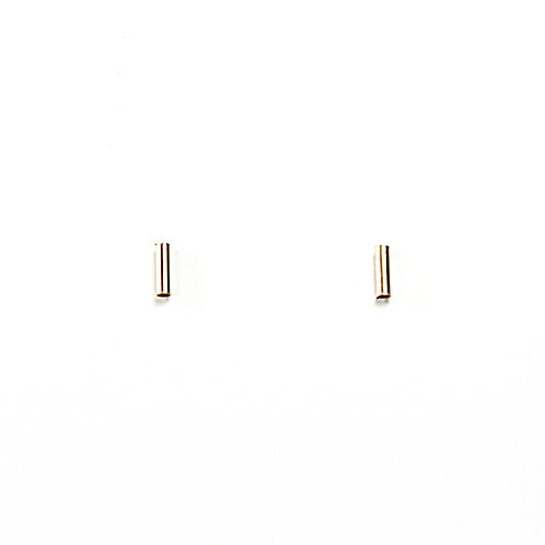 Gold-Filled Tube Studs - Small