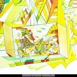 CARNIVAL OF DREAMS -detail bottom left