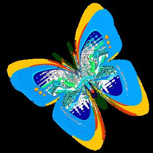 CARNIVAL OF DREAMS - Montage : light blue butterfly logo