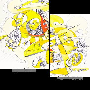 FRAGMENTS detail  left & right