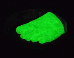 Glow Foot Ashtray