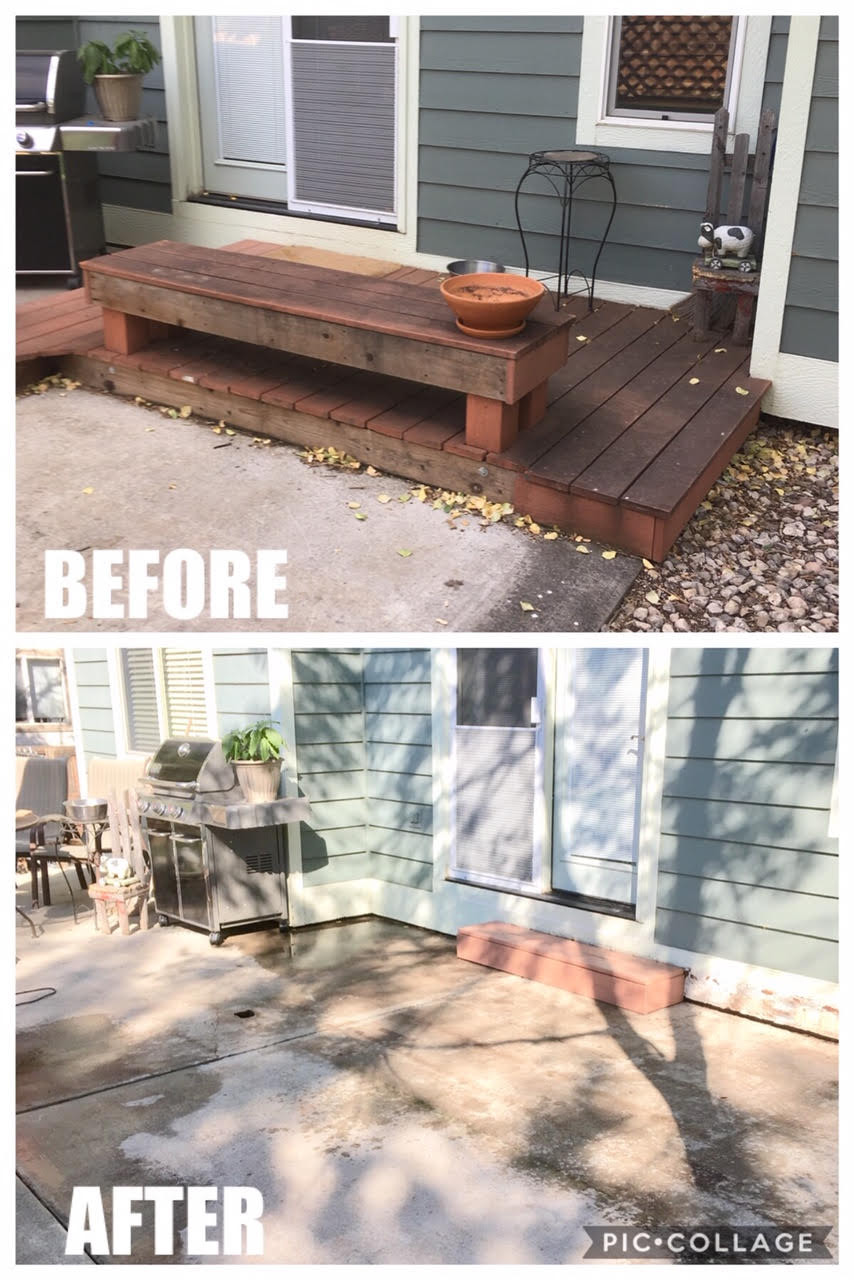 Deck Removal & Step Rebuild