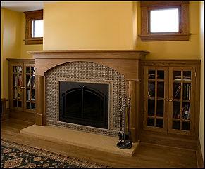 Oak Fireplace surround
