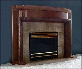 Jatoba Fireplace Surround
