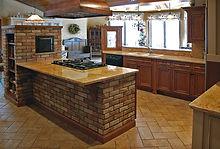 Birch & Masonry Kitchen