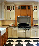 Painted & Birch Kitchen