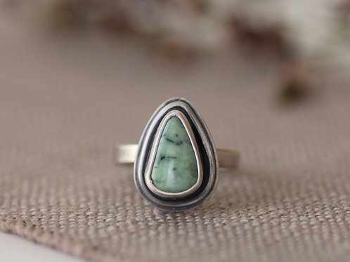 Size 7 1/4 - NEVADA TURQUOISE GEMSTONE RING