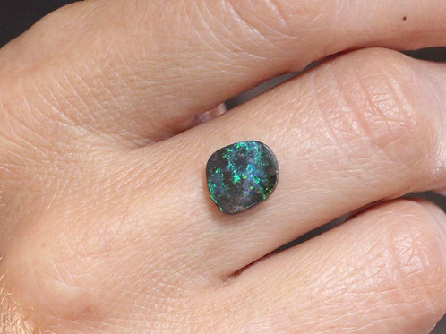 OPAL #48 INCLUDING RING IN STERLING SILVER