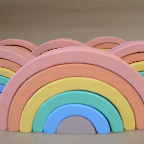 Arcoiris pastel