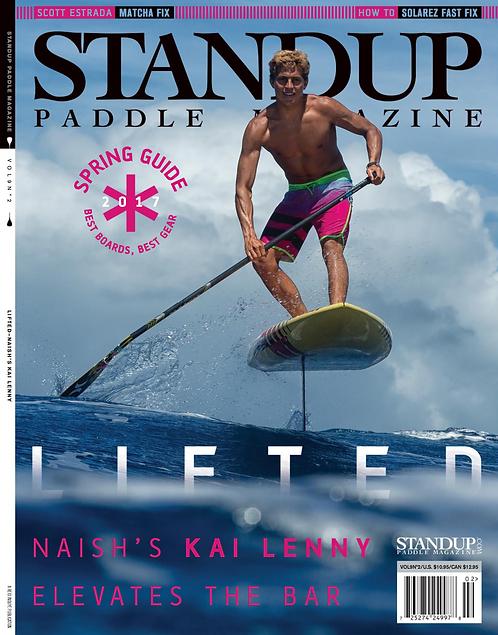 SPMag • V9N2 • Naish's Kai Lenny LIFTED