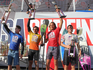 USA SURFING CROWNS FIRST EVER SUP / PADDLEBOARD CHAMPIONS