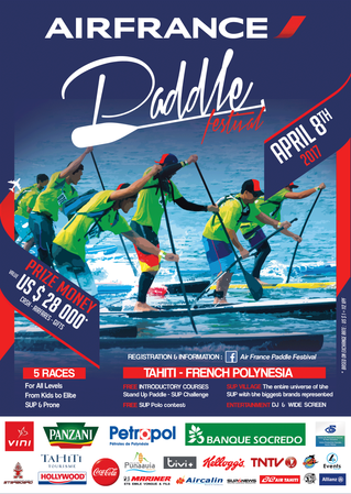 AIRFRANCE Paddle Festival