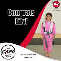 Congrats Lily!