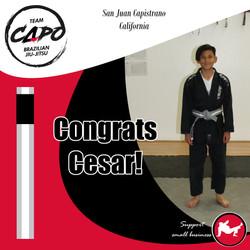 Congrats Cesar!