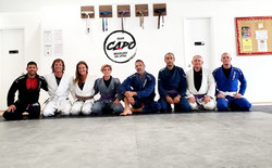 With our guests from Renzo Gracie.